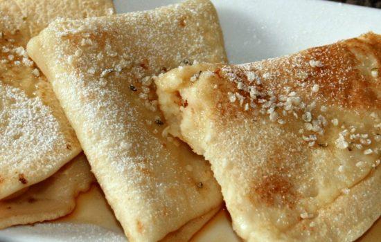 Crêpes faciles et délicieuses (sans oeufs)