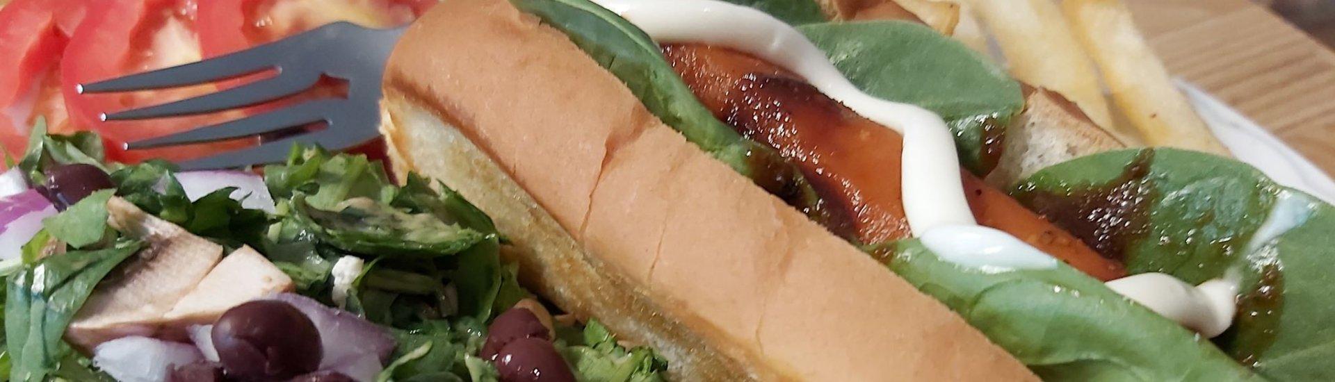 Carotte hot-dog