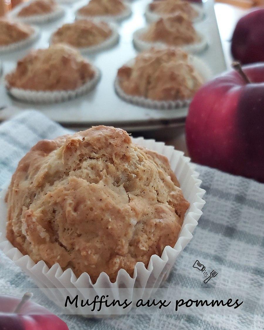 Muffins aux pommes et cannelle
