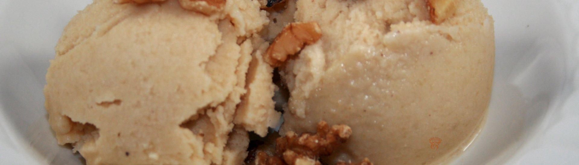Dessert glacé à l'érable
