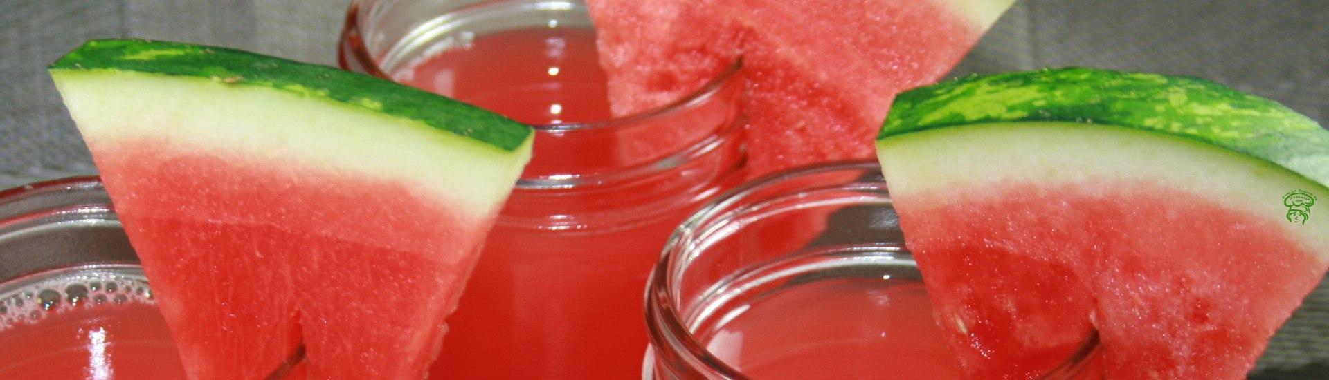 Jus de melon d'eau