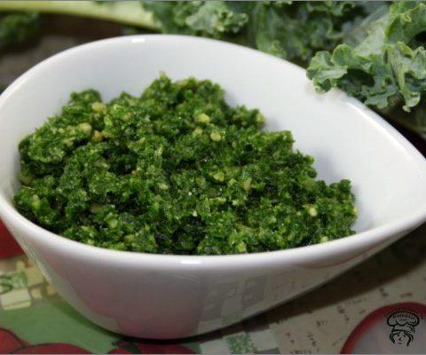 Pesto de kale au noix de cajous