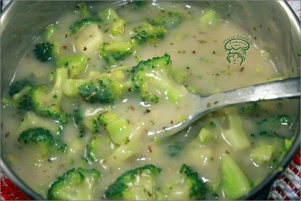 Substitut de crème de brocoli