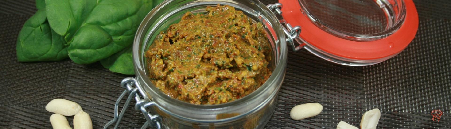 Pesto de tomates séchées au soleil