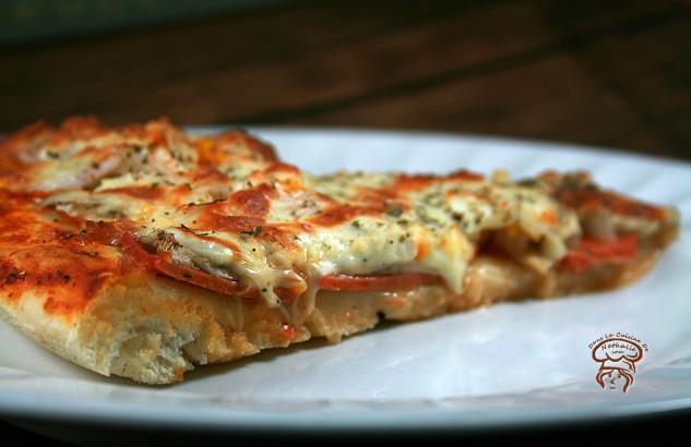 Pâte à pizza vegan