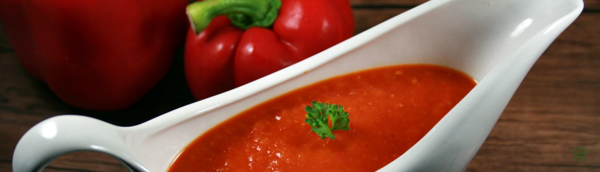 Sauce aux poivrons grillés