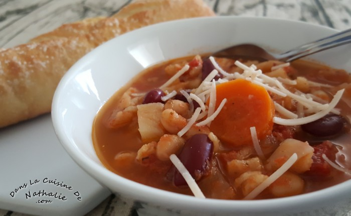 soupe italienne minestrone