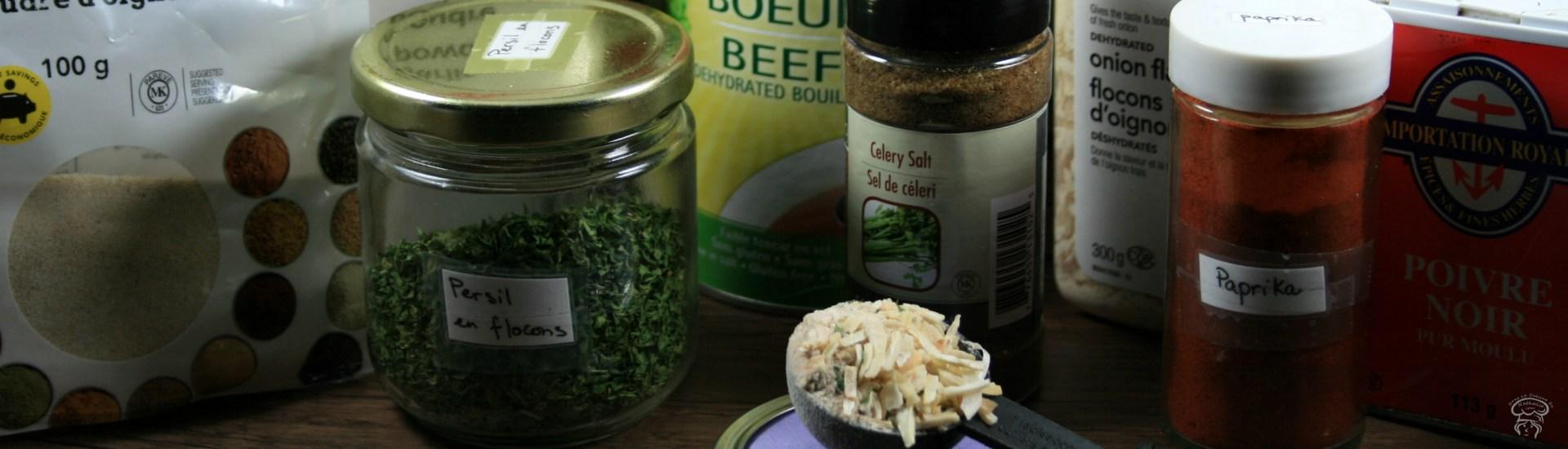 Substitut: Sachet de soupe à l'oignon