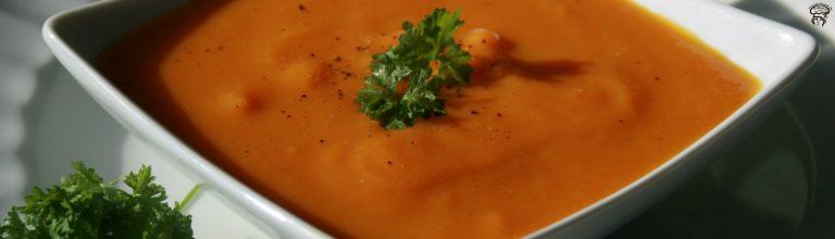 Potage de carottes à l'orange