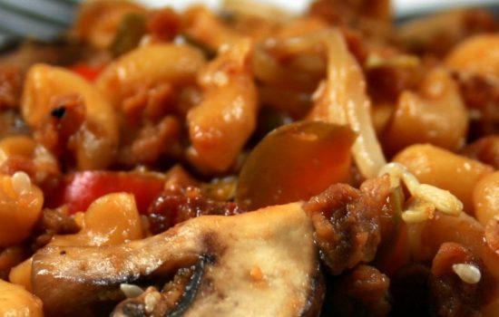 Macaroni chinois végé