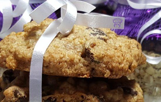 Biscuits aux canneberges et chocolat