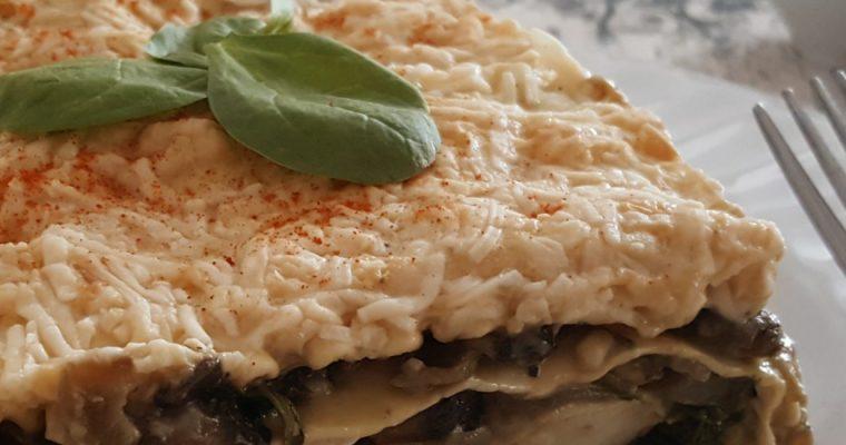 Lasagne forestière aux crevettes