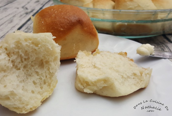 Petits pains blancs, à salade