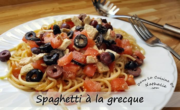 Spaghetti à la Grecque