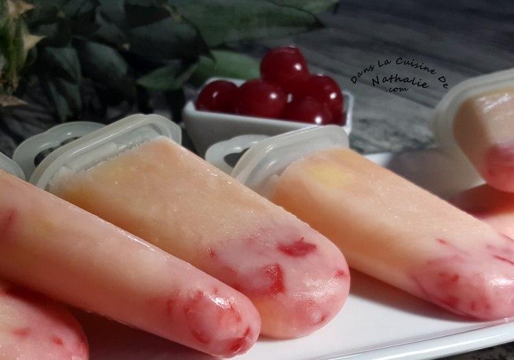 Sucette glacées piña colada