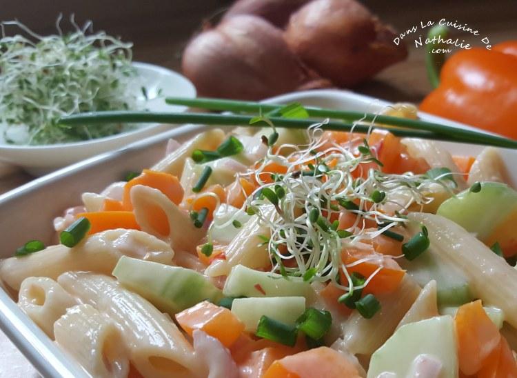 Salade de pâtes potluck