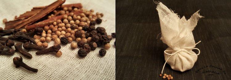 Sachet d'épices pour betteraves marinées