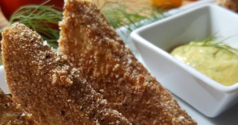 Tofu pané croustillant