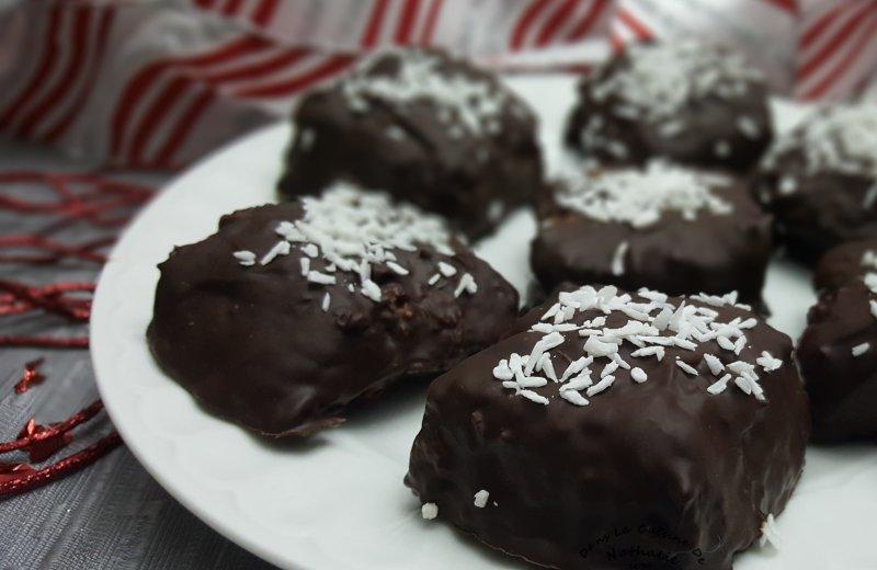 Noix de coco enrobé de chocolat